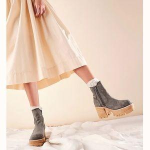 Preston Platform Ankle Boots Jeffery Campbell
